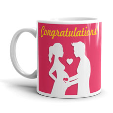 Congratulations Pregnancy Mug