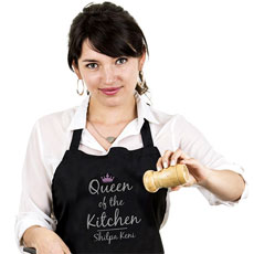 Queen Personalised Apron