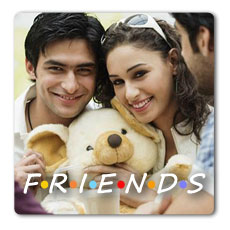 Friends Personalised Magnet