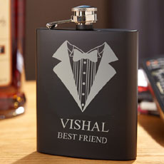 Name Hip Flask For Him