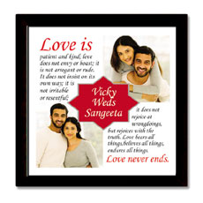 Love Never Ends Frame