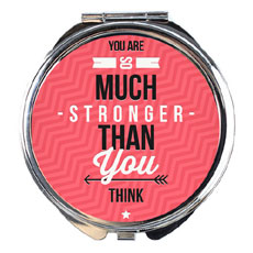 You Are Strong Compact Mirror