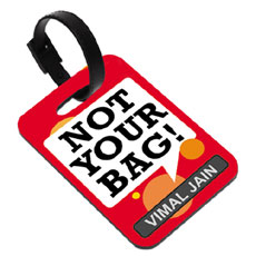 Not Your Bag Name Tag