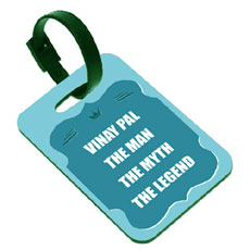 Legend Luggage Tag