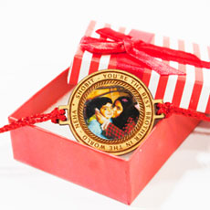 Personalised Message And Photo Rakhi