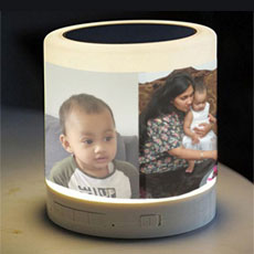 Personalised Lamp With Speaker