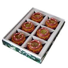 Matki Diya Set Of Six