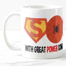 Great Power Superhero Mug