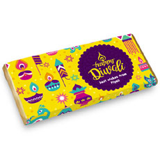 Diwali Lights Personalised Chocolate