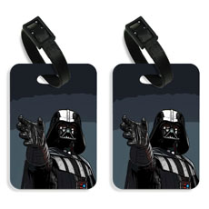 Vader Luggage Tags Set Of Two