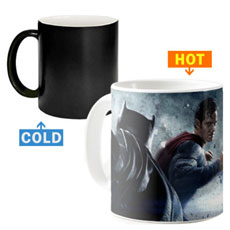 Batman Superman Artwork Magic Mug