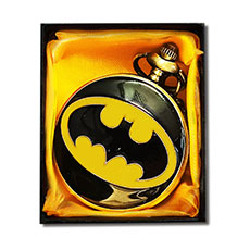 Bat Man Retro Pocket Watch