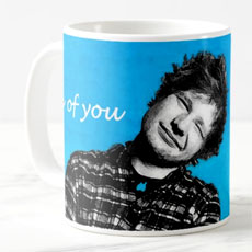 Ed Sheeran Fan Art Mug