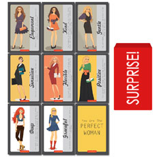 Perfect Woman Gift Cards