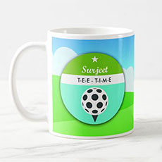 Golf Time Personalised Mug