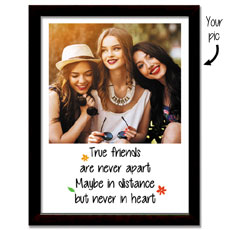 True Friends Personalised Framed Print