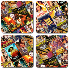 Bollywood Coasters Set Of Four