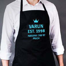Personal Chef Name Apron For Him