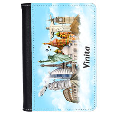 World Traveler Personalised Passport Cover