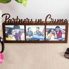 Partners In Crime LED Photo Frame