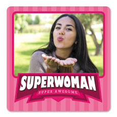Super Woman Personalised Magnet