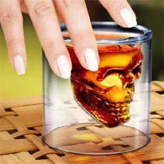 Doomed Skull Shotglass