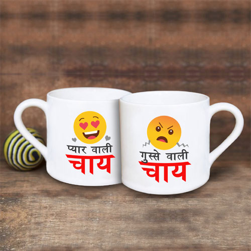 Gusse Wali Pyar Wali Chai Cups Set Of Four