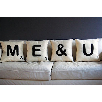 Personalised Letter Cushions