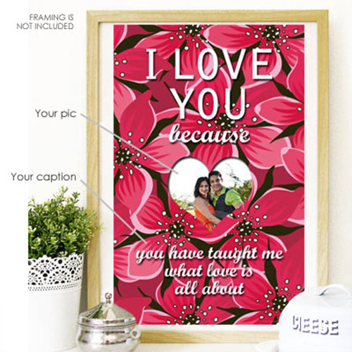 I Love You Because Poster