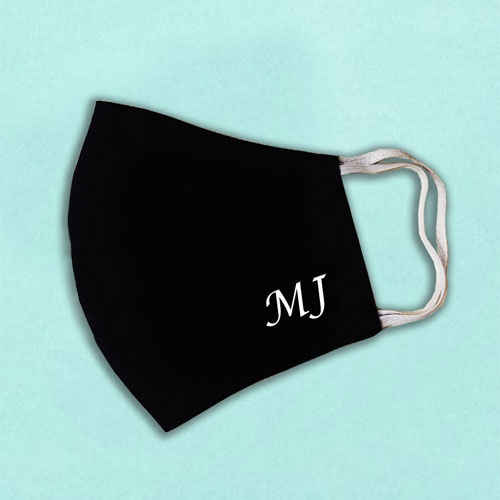 Personalised Initials Face Mask