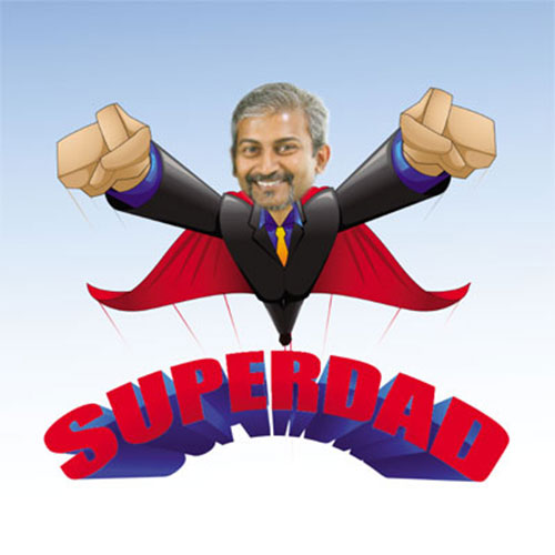 Super Dad Personalised Memento