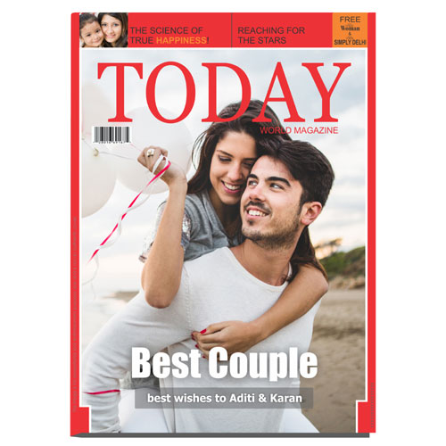 Personalised Magazine Cover