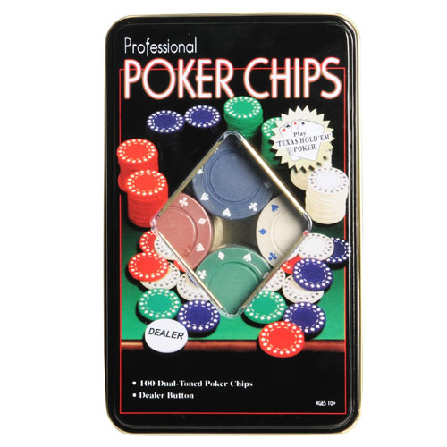Poker Chips Box
