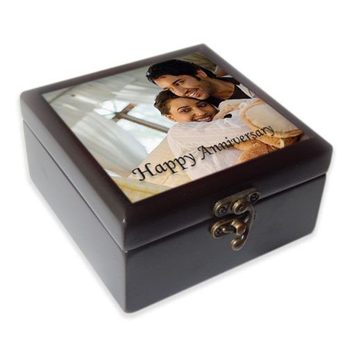 Compact Photo Jewelery Box