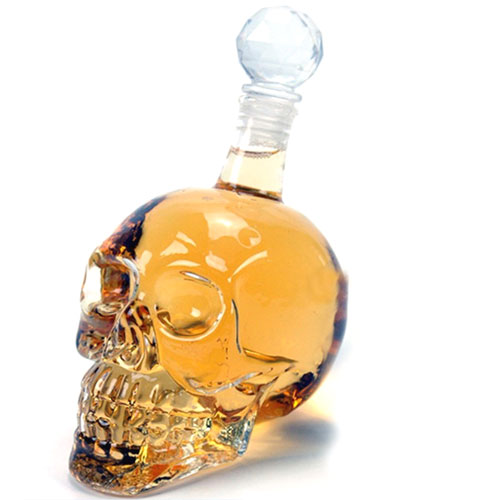Crystal Head Large Decanter