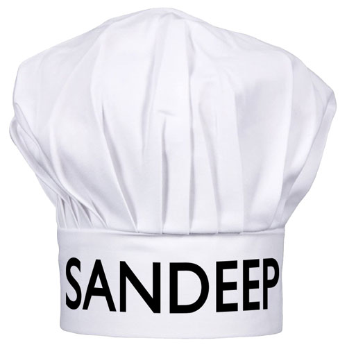 Chef Hat With Name