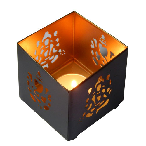 Lakshmi Ganesha Tealight Holder