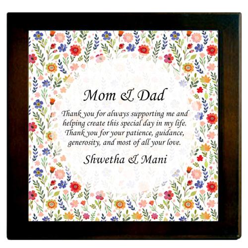 Parents Framed Plaque