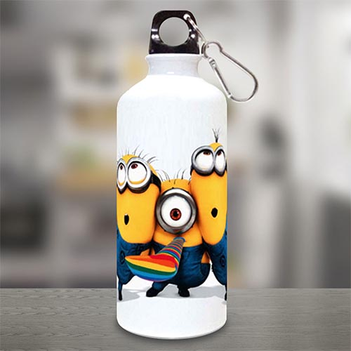 Happy Minions Sipper Bottle