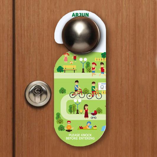 Kids Name Door Hanger