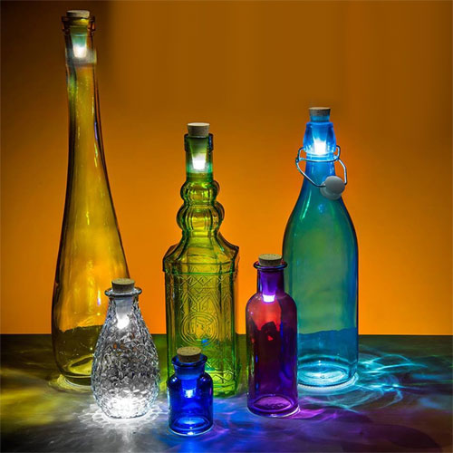 Cork Bottle Light