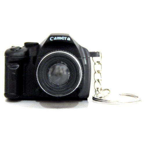 Sound And Light Camera Keychain
