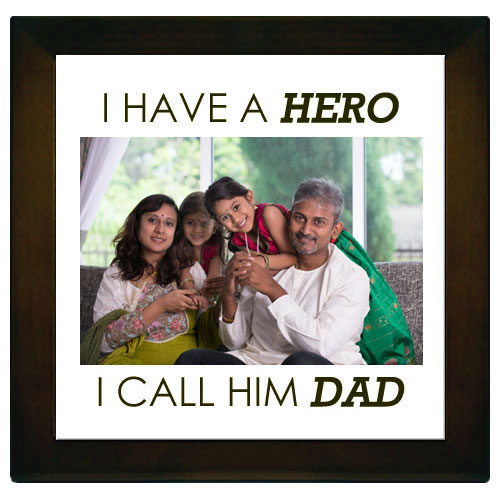 Dad Hero Personalised Memento