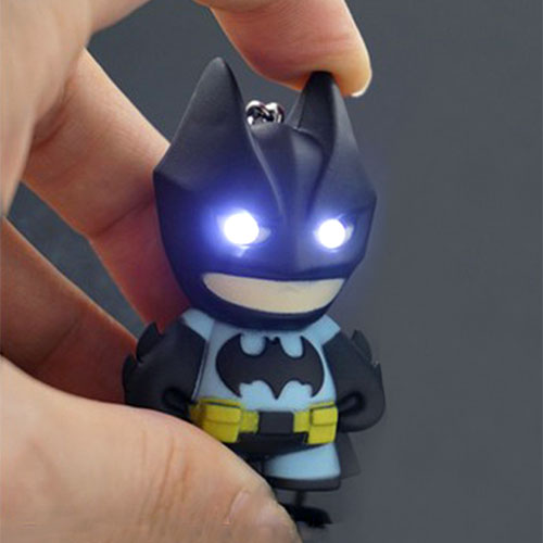 Batman LED Keychain