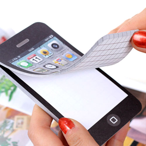 Smartphone Sticky Notepad