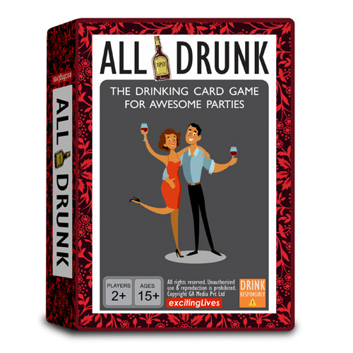 All Drunk Party Drinking Game