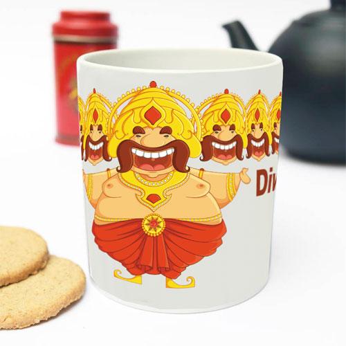 Diwali Ravan Mug