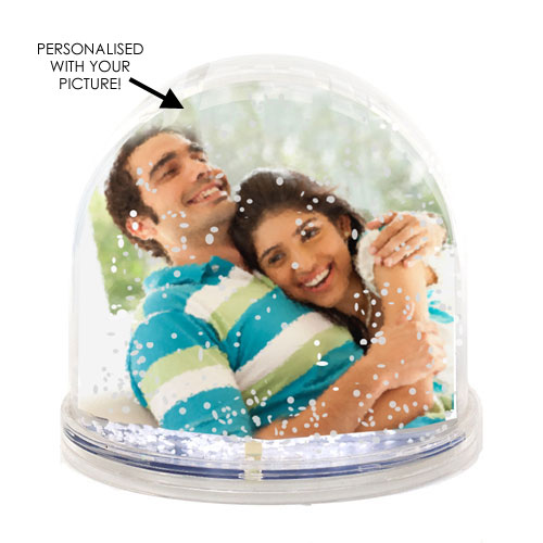 Personalised Snow Globe Photo Frame