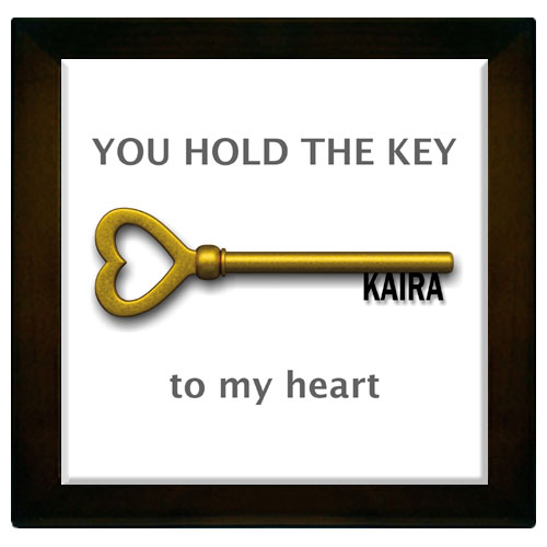 Key To My Heart Memento