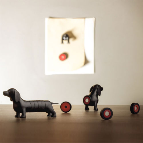Dachshund Dog Styled Magnets